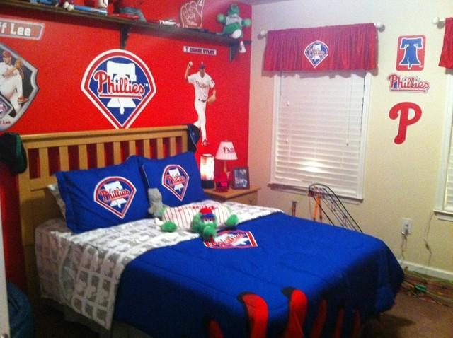 kids sports rooms modern kids philadelphia by j marks painting rh houzz com Sports Bedding Sports Rooms Man Caves