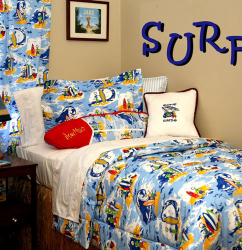 kids surfing themed room tropical kids other metro by dean