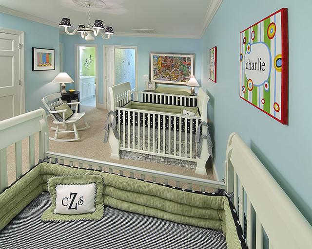 Nursery for Twin Boys kids