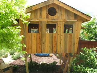 Kids Tree House Or Fort Eclectic Kids