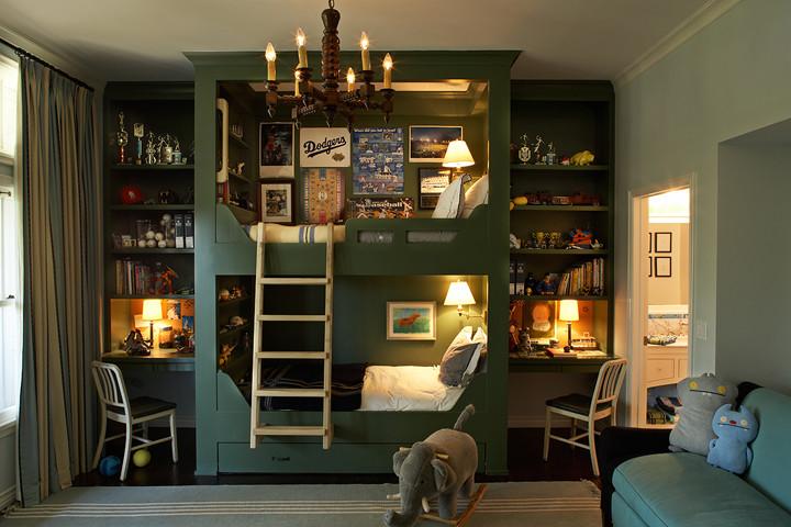 Kids' room - eclectic kids' room idea in Los Angeles
