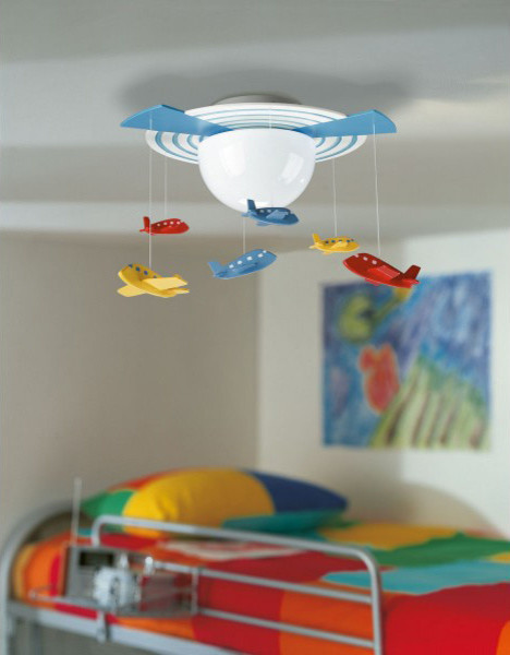 Kidsplace O'hare Ceiling Light eclectic-kids