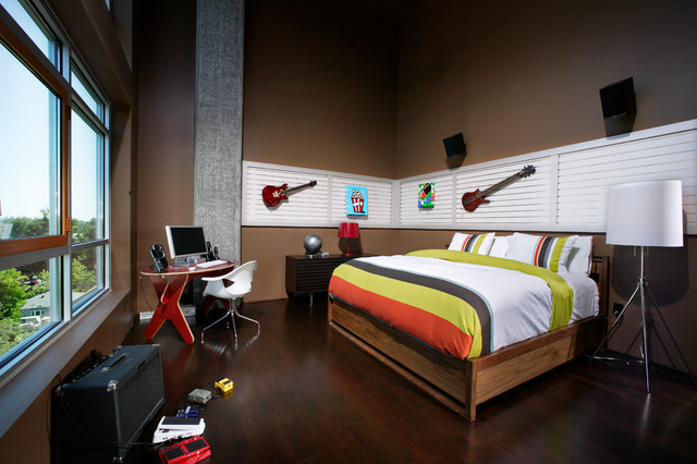 L Street Penthouse - Contemporary - Kids - Sacramento - by Benning Design Construction
