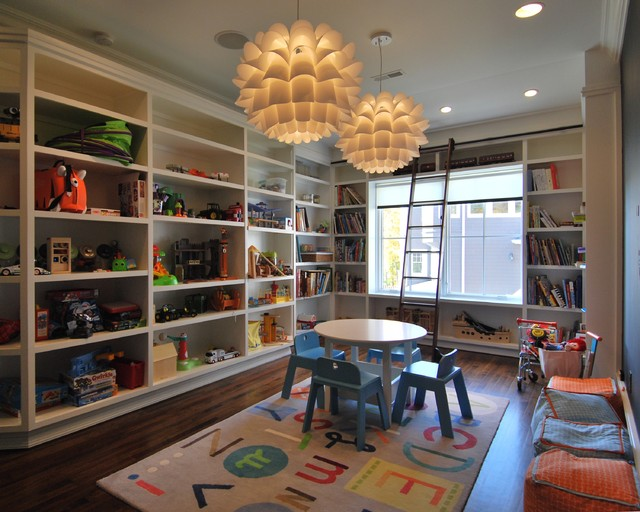 Lake House Extraordinaire! eclectic-kids