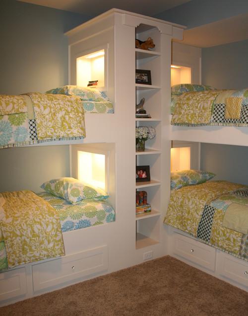 двухярусные кровати по эскизу