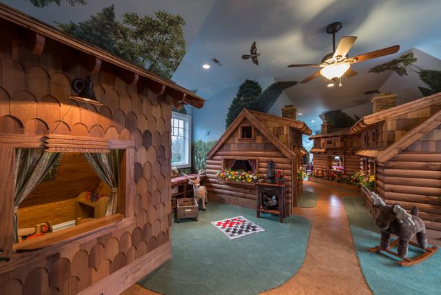 Lake Living:  13000 Sq Ft Renovation & Addition traditional-kids