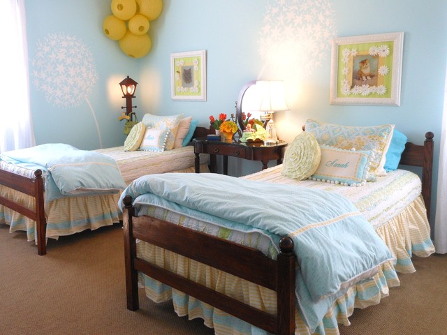 Lakeshore Cottage Living:  Children's Room traditional-kids