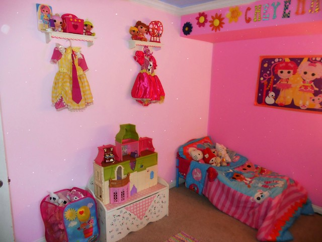 Lalaloopsy Girls Bedroom Paint Makeover
