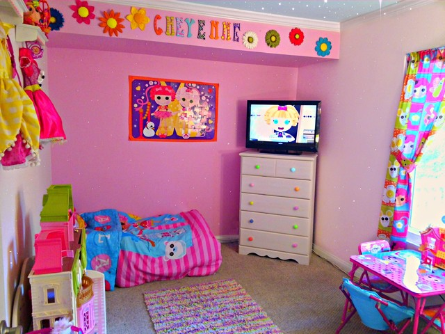 Lalaloopsy Girls bedroom Paint Makeover contemporary kids. Lalaloopsy Girls bedroom Paint Makeover   Contemporary   Kids