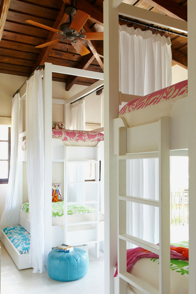 Inspiration for a mediterranean kids' room remodel in Other