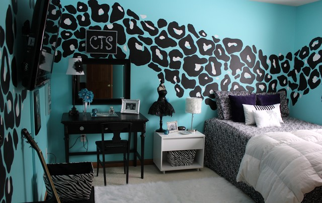 leopard bedroom eclectic kids other metro by smart design