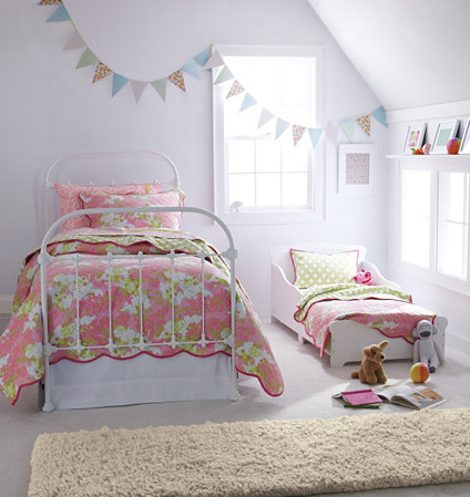 Lilly Pulitzer Bedroom - Contemporary - Kids - Burlington - by ...