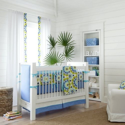 Lime Solar Flair Crib Bedding Collection By Carousel Designs Tropical Kids