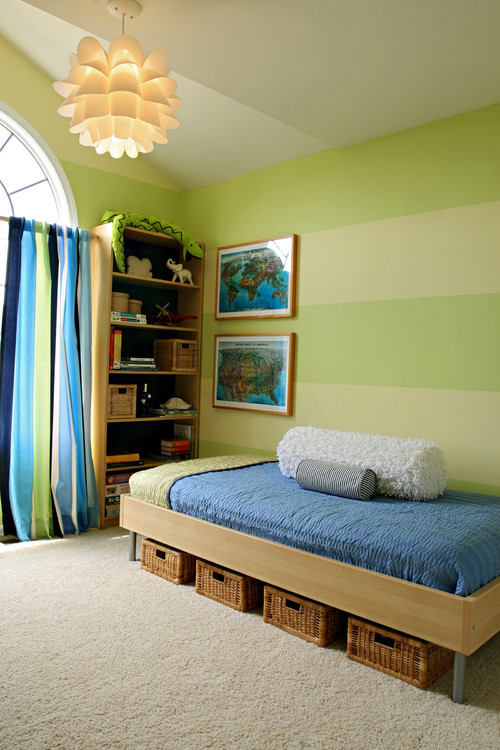 Lime Stripe Room BOY