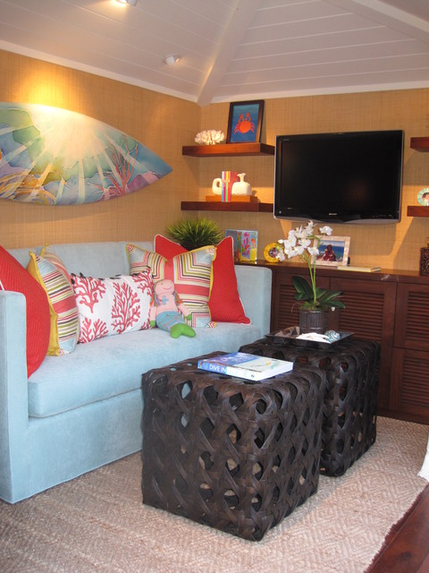Little Diamond Head Project Playhouse 2011 Tropical Kids Orange County By D For Design