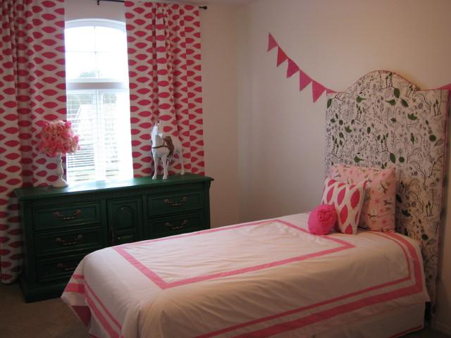 Little Evie's room eclectic-kids
