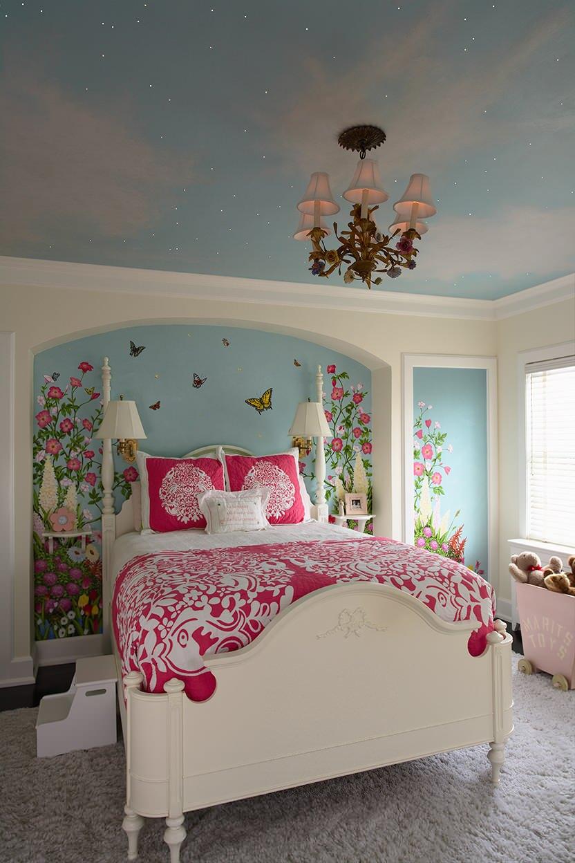 Girl Bedroom Painting Ideas Houzz