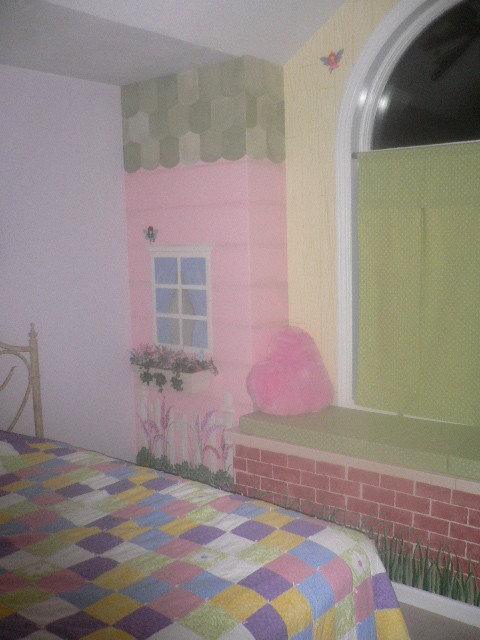 Little girl's room traditional-kids