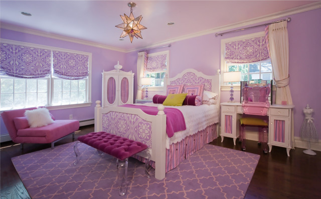 Little Girls Bedroom 1   American Traditional   Kids   New York   By Paula  Caponetti Designs LLC