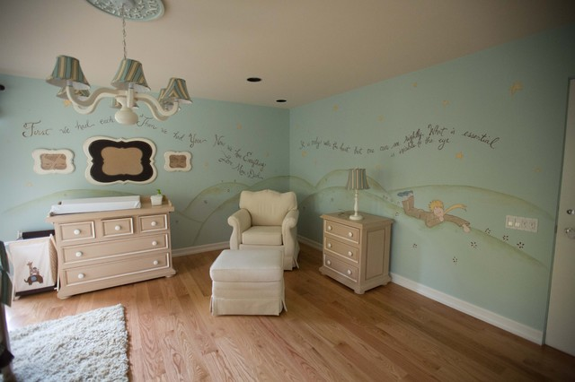 Little Prince Theme Nursery Eclectic Kids New York