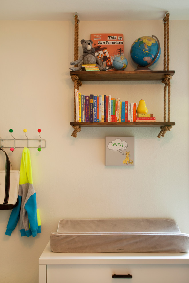 Transitional kids' room photo in San Francisco
