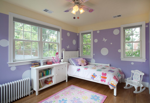 decorate a nursery with vinyl decal butterflies