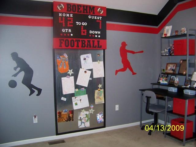 Logan s Sports Room eclectic kids. Logan s Sports Room   Eclectic   Kids   Kansas City   by Boehm