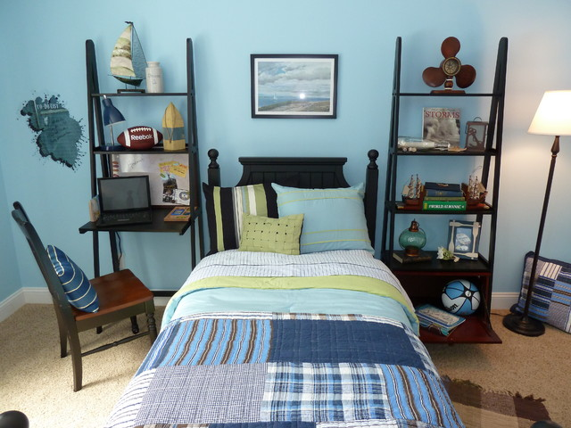 LongMeadow boys room contemporary kids