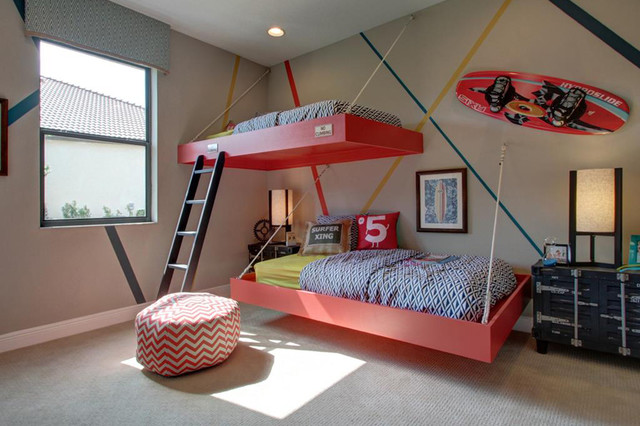 Contemporary Kids Tampa M/I Homes of Tampa: TerraLargo - Corsica VI Bonus Hlm Model contemporary-
