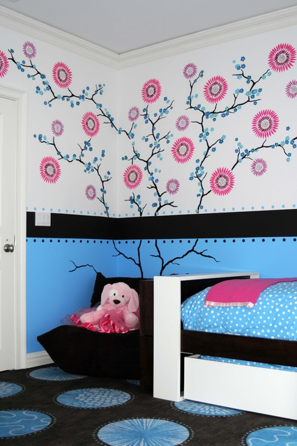 Maddies bedroom contemporary kids