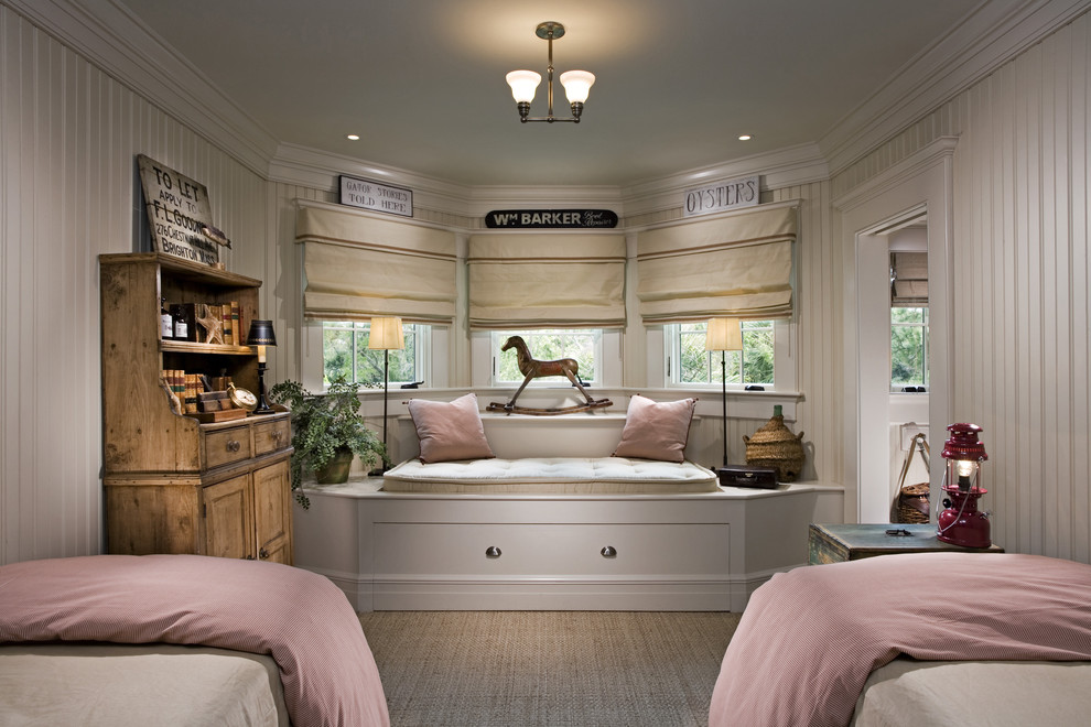 Kids' room - traditional girl kids' room idea in Charleston