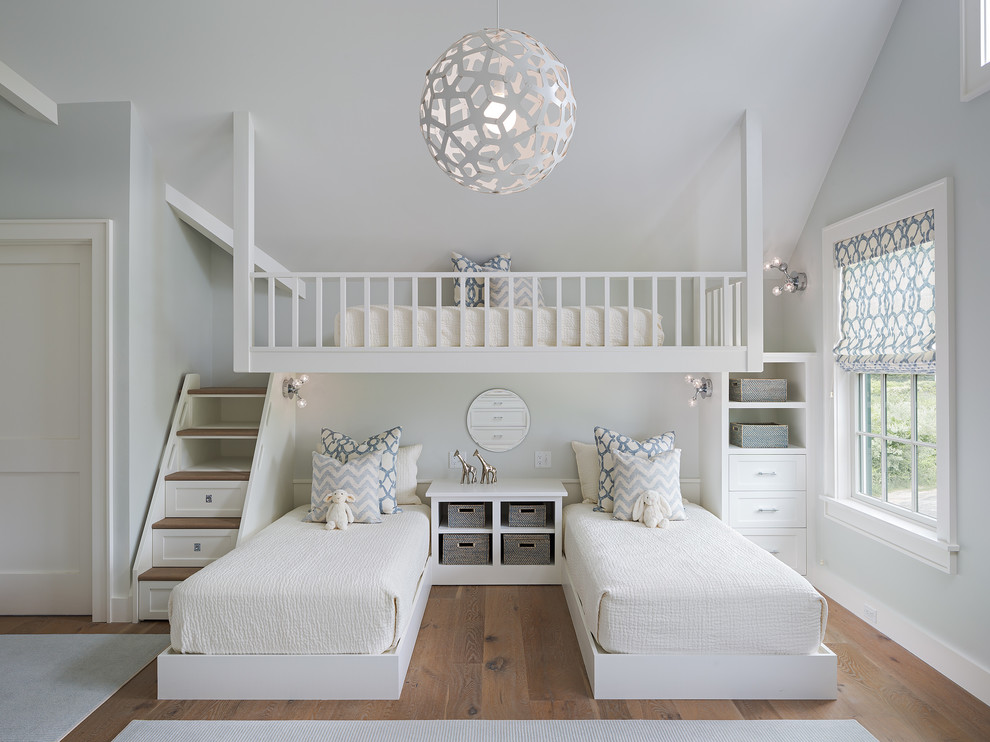 Inspiration for a mid-sized transitional kids' room remodel in Boston
