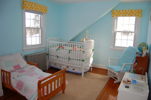 Mia and Nicks Shared Nursery eclectic kids
