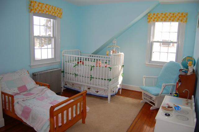 Mia And Nick S Shared Nursery