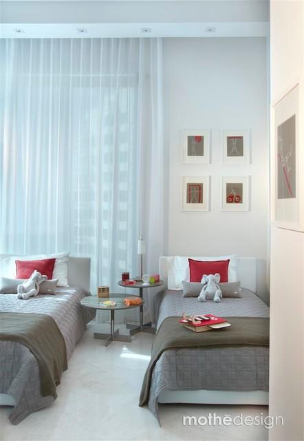 Miami - Asia contemporary-bedroom