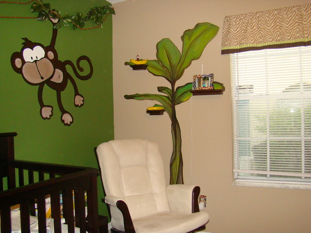 Michaels Jungle Baby Room Eclectic Kids Orlando by Pamela