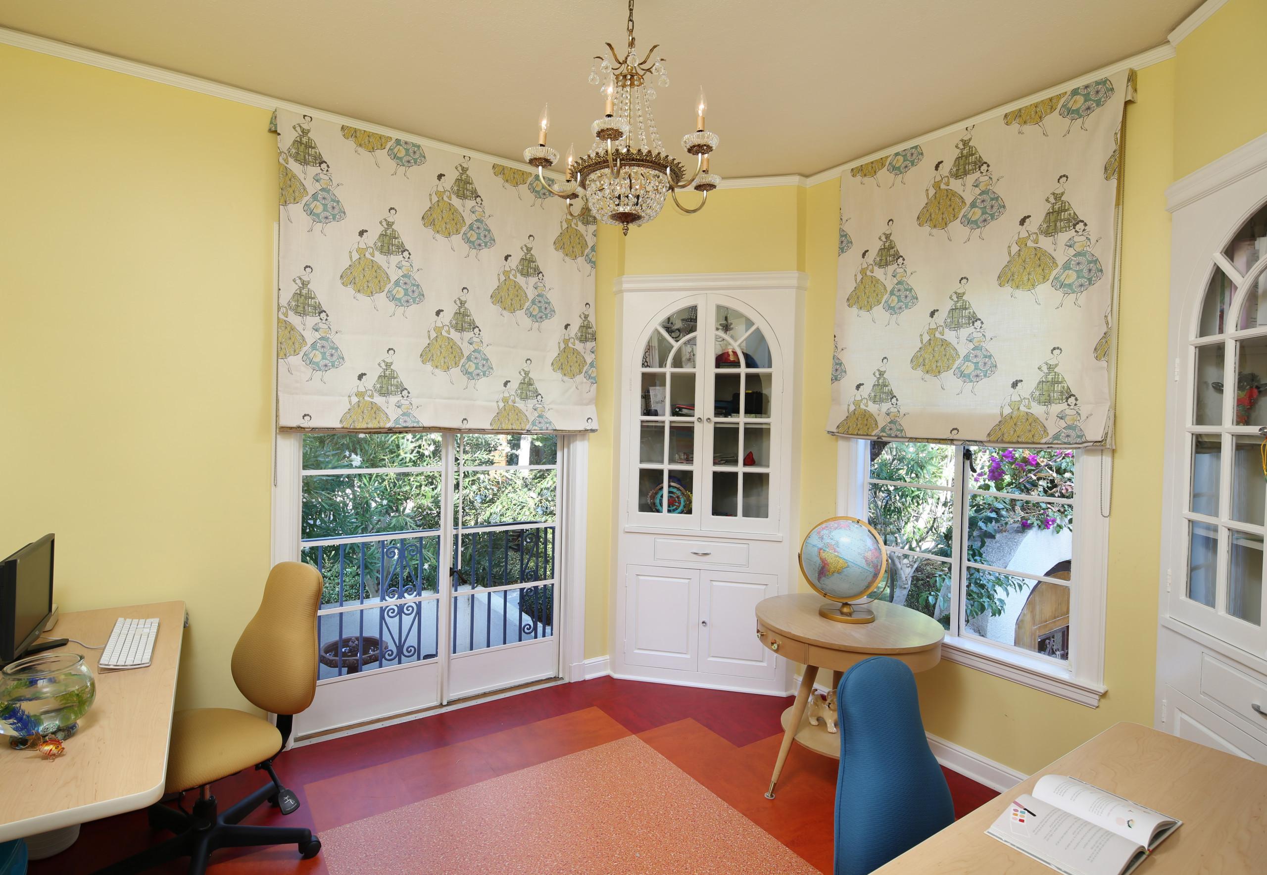 Mid-century Girls' Office