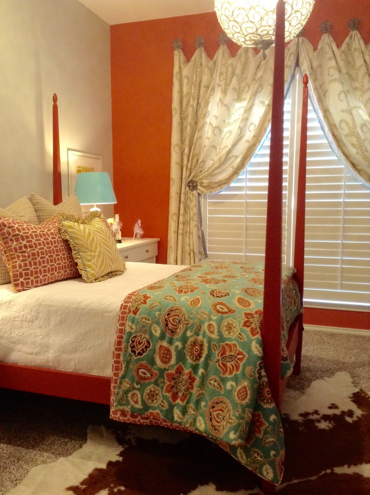 Kids' room - eclectic kids' room idea in Oklahoma City