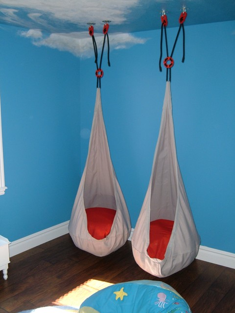 Mill 39 s playroom for Swing for kids room