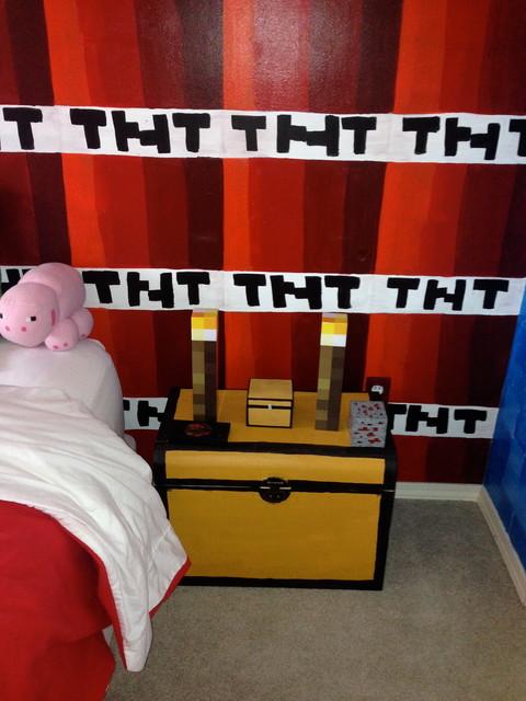 Minecraft Inspired Boy\'s Bedroom - Modern - Kinderzimmer ...