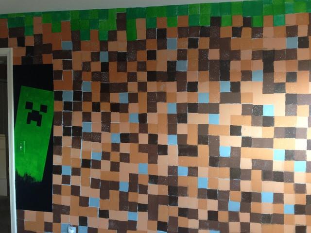Minecraft Inspired Boy's Bedroom   Modern   Kinderzimmer   Seattle
