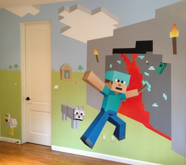 Minecraft mania - Minecraft kinderzimmer ...