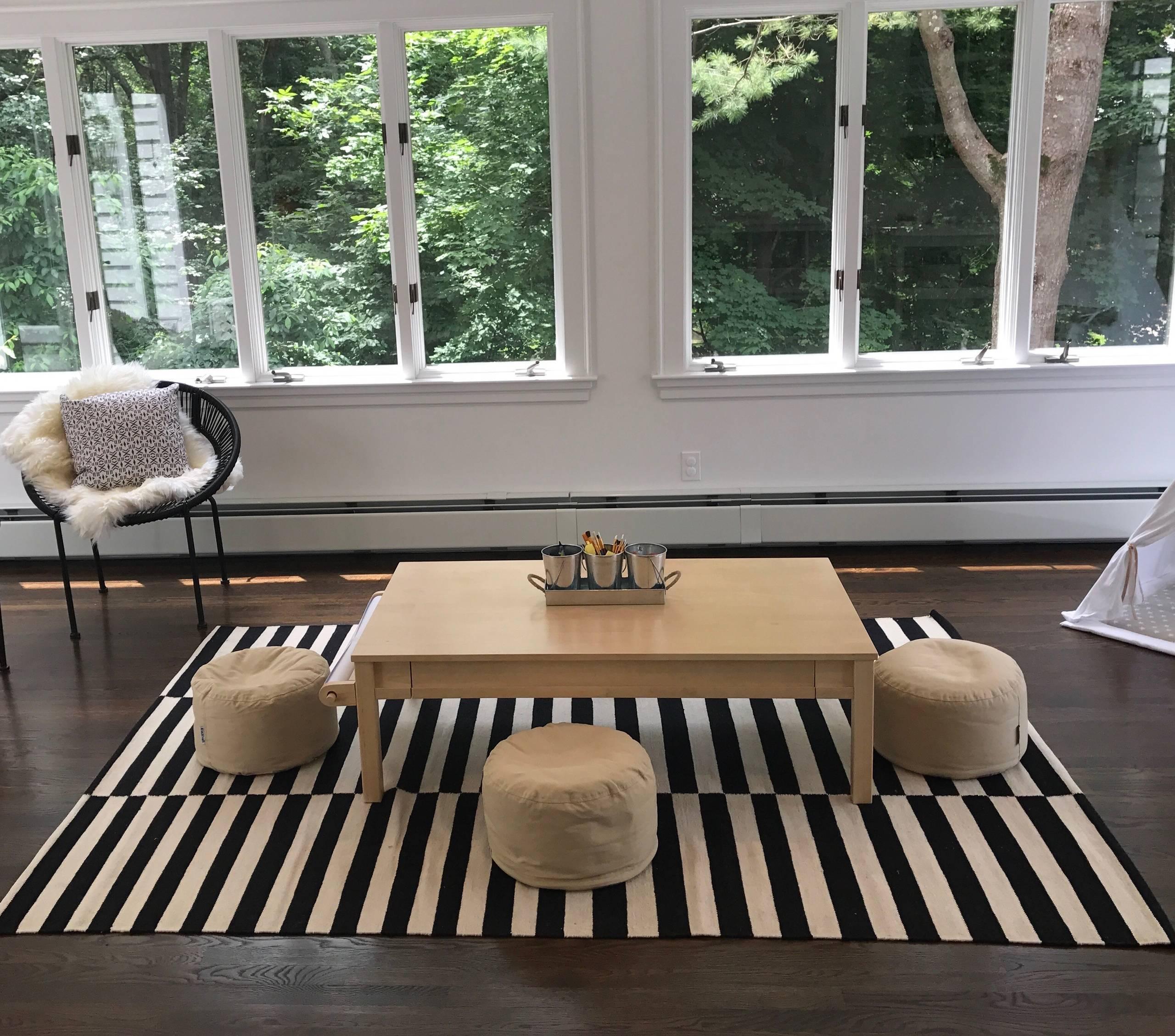 Minimalist Contemporary Playroom