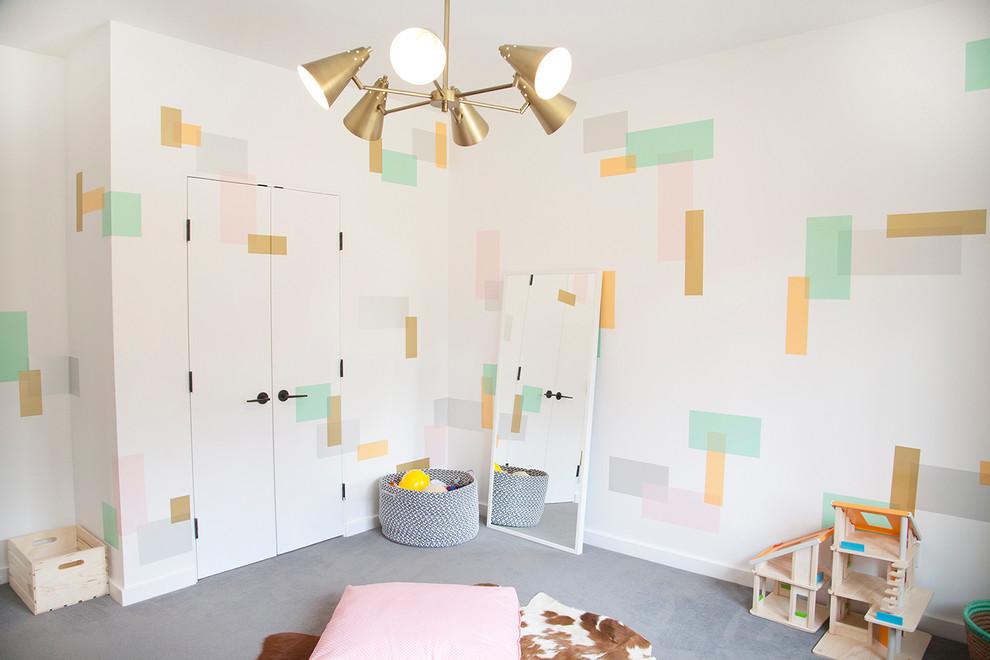 Trendy playroom photo in New York