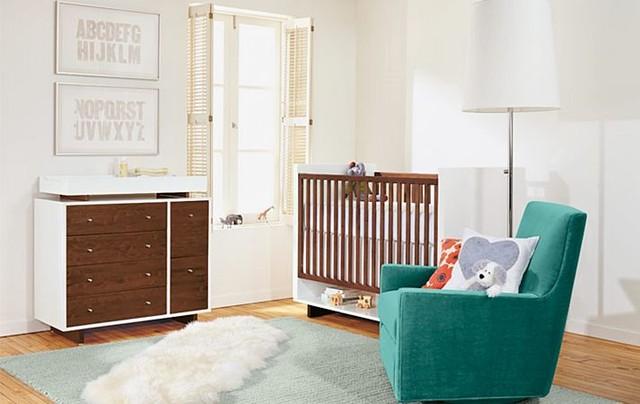 Beautiful Room U0026 Board · Furniture U0026 Accessories. Moda Nursery In Mocha By Ru0026B Modern  Kids