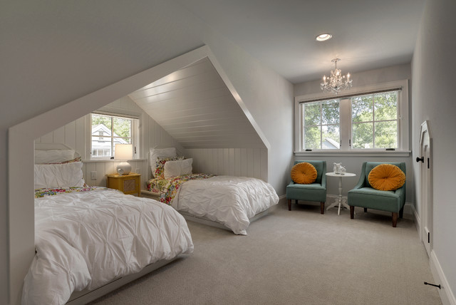 Modern Bungalow Traditional Kids Minneapolis By