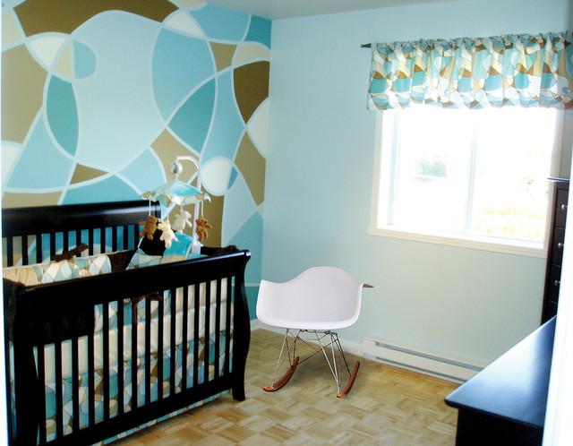 Modern Nursery in Laval contemporary-kids