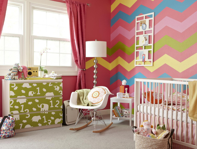 Modern Nursery Makeover modern-kids