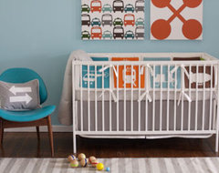 MODERNMINI DWELL BABY TRANSPORTATION MULTI CRIB SET modern-kids