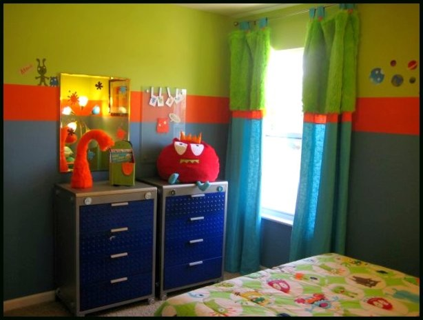 Monster Boy S Room Eclectic Kids